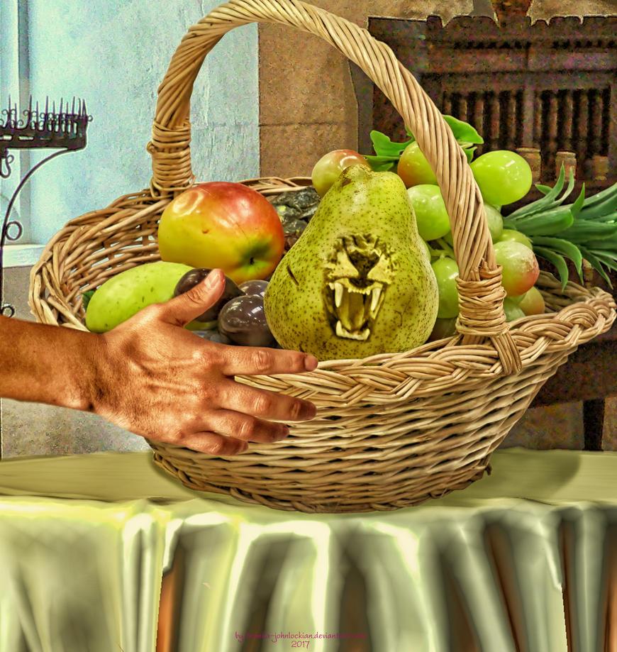 Watch it! I'll Pear your Hand Off by Branka-Johnlockian