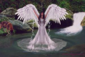 Angel of Water by BrankaArts