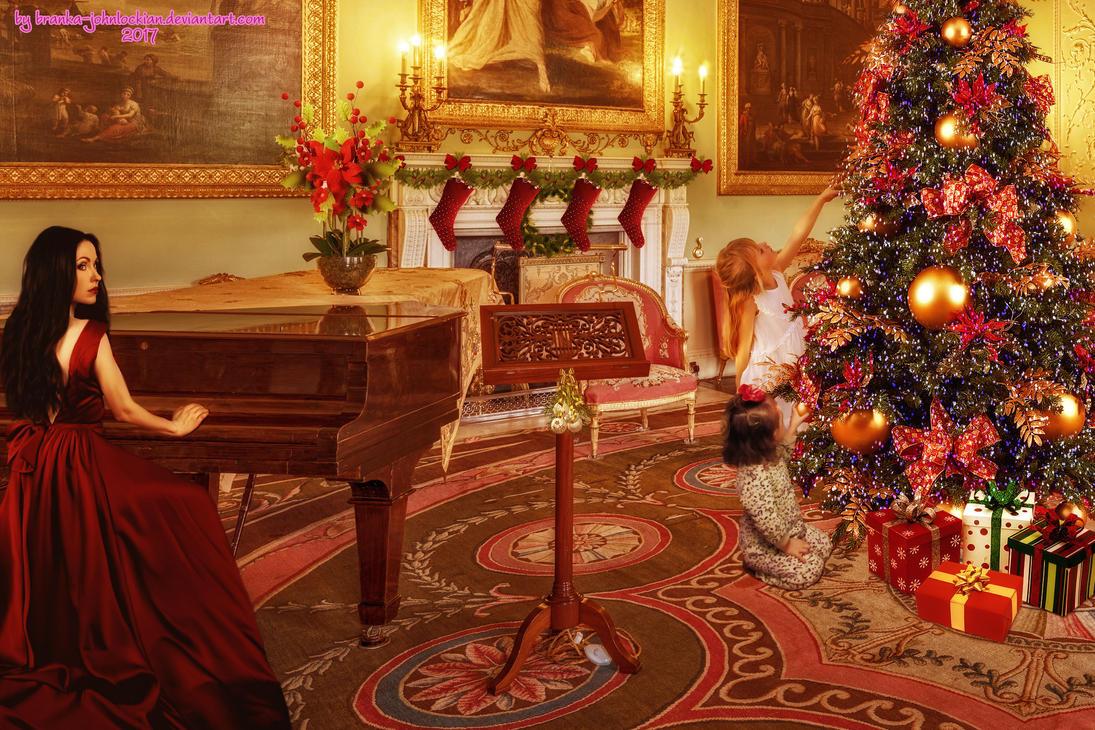 Let's Play a Christmas Song by Branka-Johnlockian