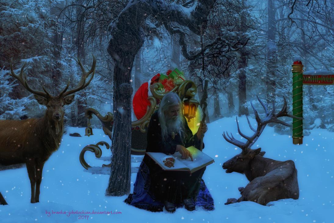 Once Upon a Christmas by Branka-Johnlockian