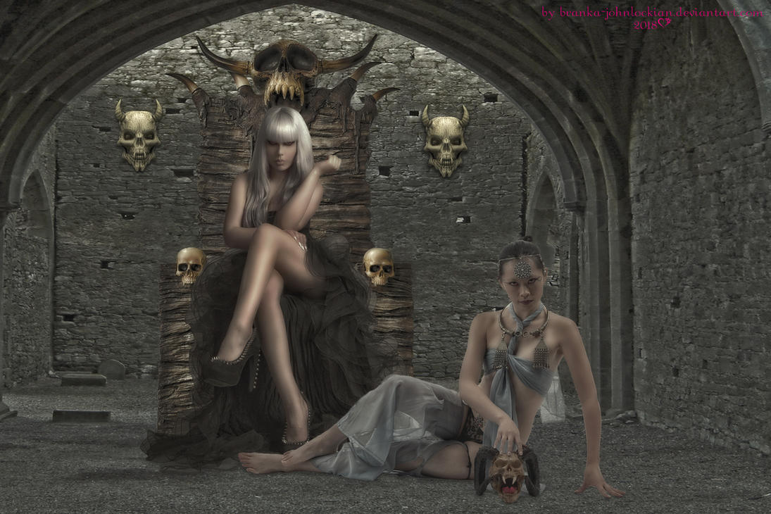 The Skull Mistress by Branka-Johnlockian