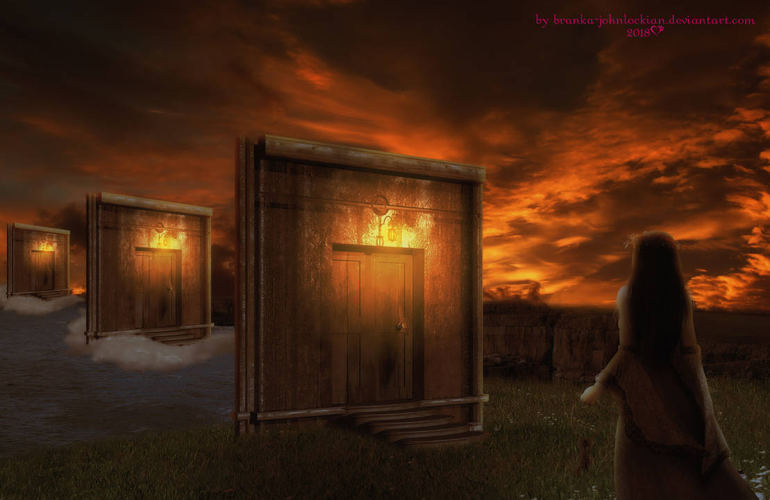 Doors to Obscurity  by BrankaArts