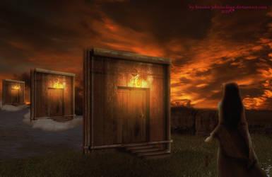 Doors to Obscurity  by BrankaArts