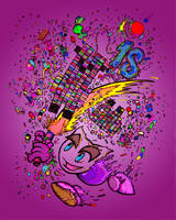 Happy Birthday deviantArt by BrankaArts