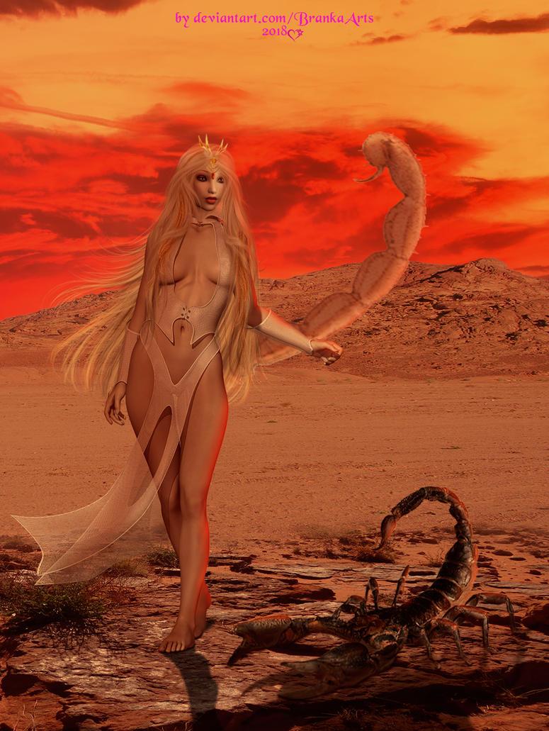 Zosken, Queen of Drexos by BrankaArts
