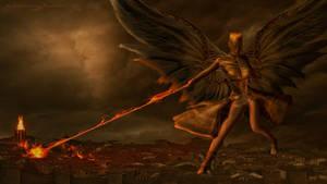Angel of Sorrow by BrankaArts