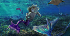 When Merfolk Comes Together by BrankaArts