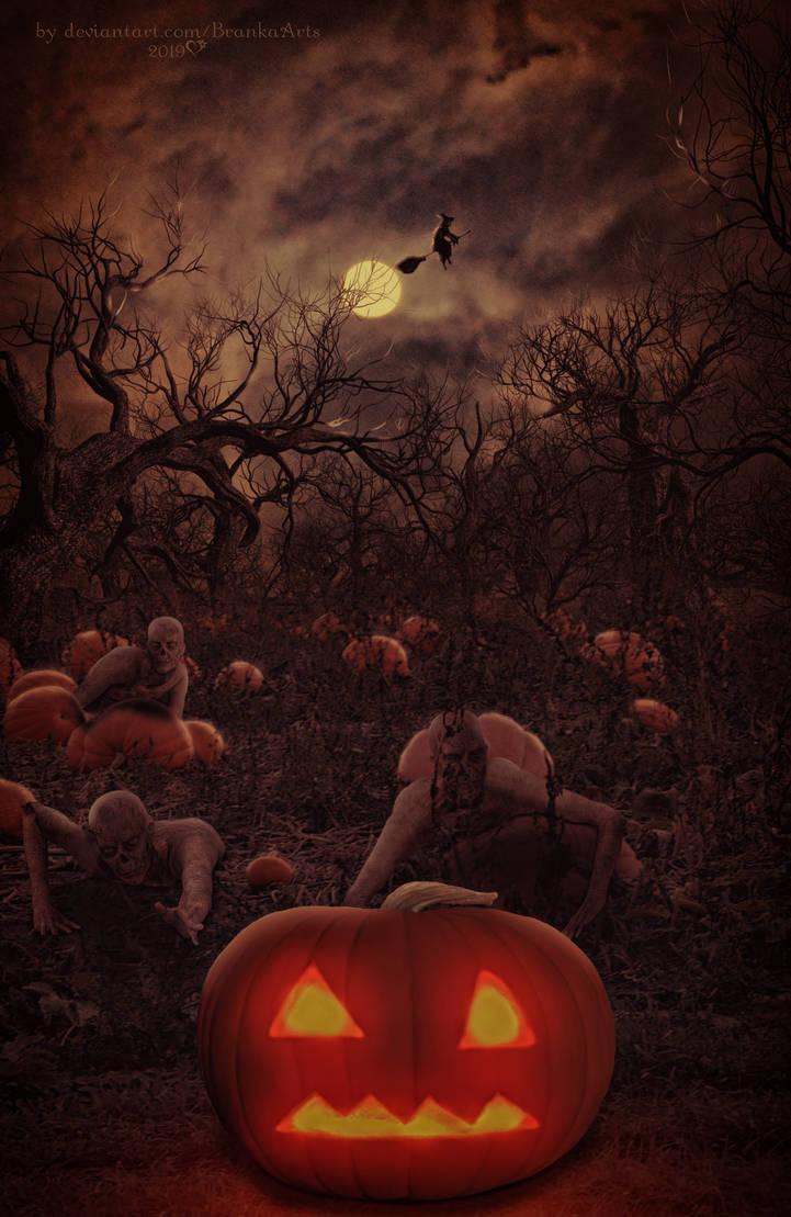 Zombies Hate Halloween by BrankaArts