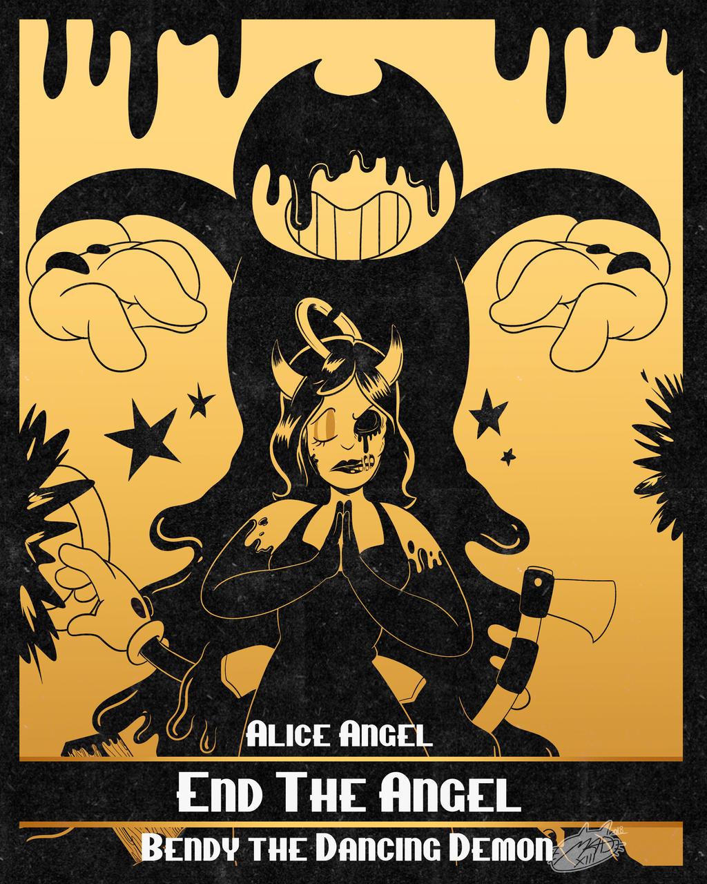 Bendy Chapter 4 by MadArtsXIII on DeviantArt