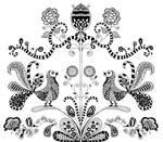 Zentangle Folk Pattern