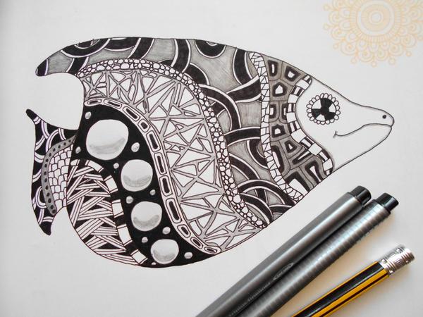 Strange Fish 2 by mdudziak