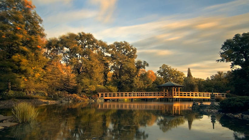 Japanese Garden Wroclaw by white-white
