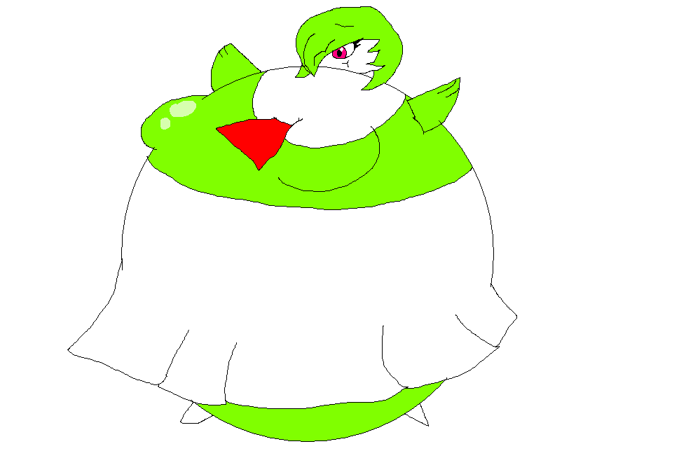 Inflated Gardevoir Inflated Gardevoir by ...