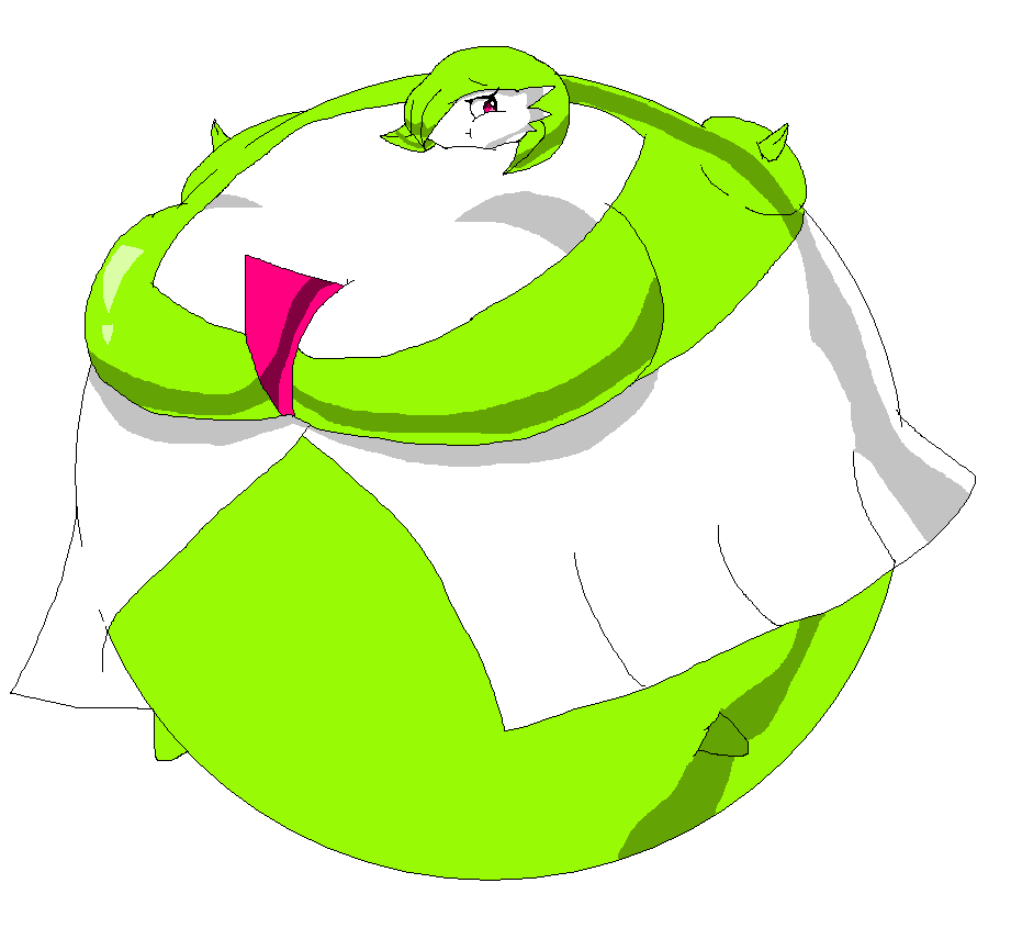 Inflated Gardevoir 2 By SodaBaruun On DeviantArt