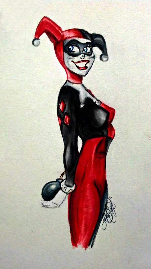 Hiya Puddin' by SarahL-Art