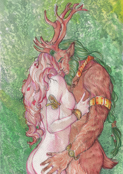 In the Forest by PaddyMoonshade