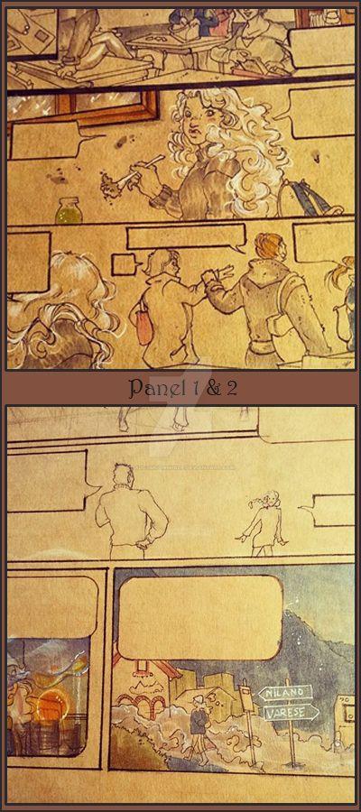 Comics panel 1-2 by PaddyMoonshade