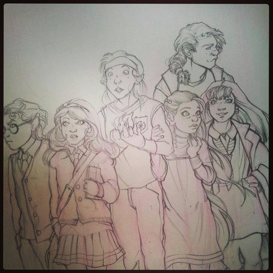schoolmates {wip{ by PaddyMoonshade