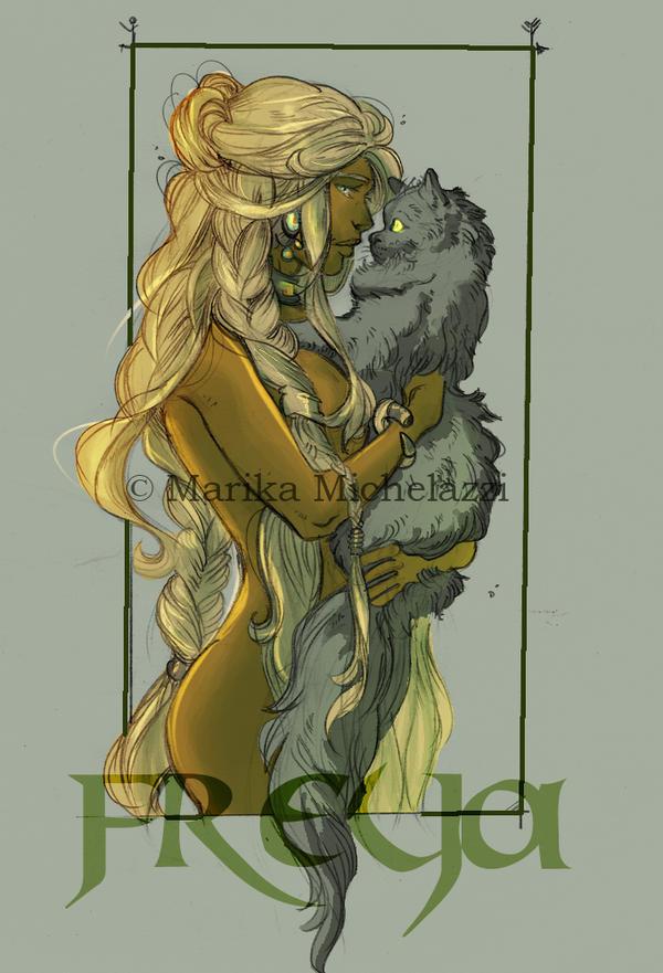 Freya from Vanheim by PaddyMoonshade
