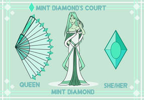 Mint Diamond's Court by NeonCandies