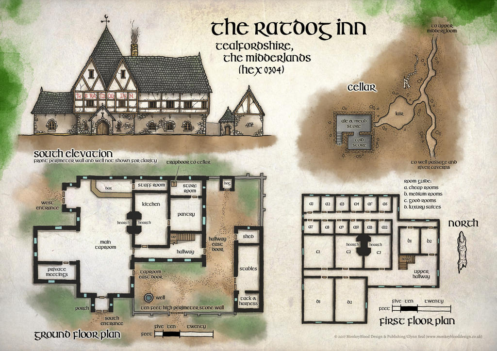 The Ratdog Inn by whirlpool