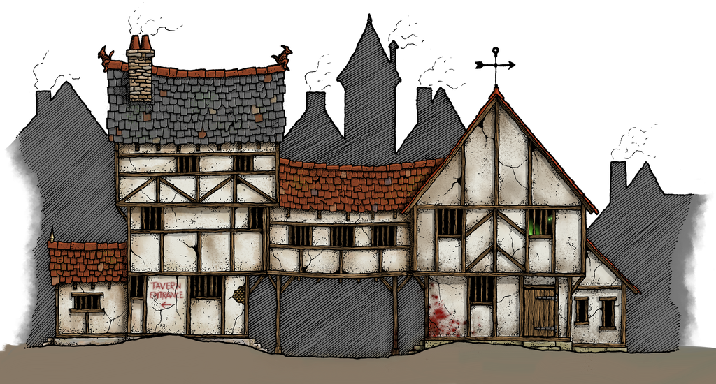 The Punched Muckulus Tavern by whirlpool