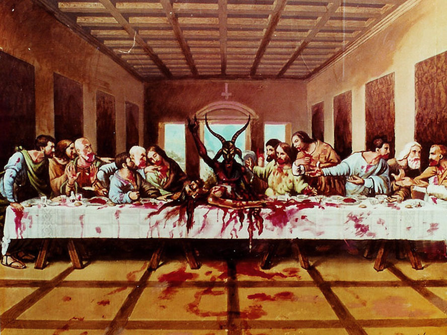 The real last supper by xtreme jesus