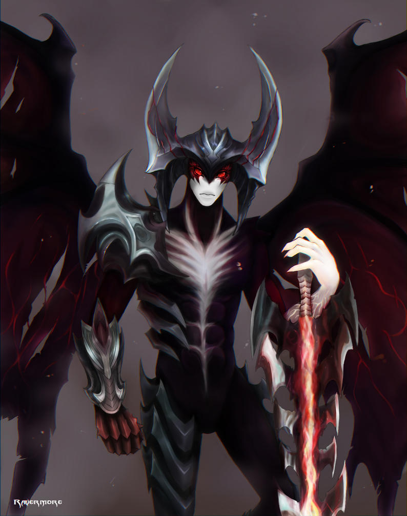 Epic Quinn Valor Aatrox Fan Art League Of Legends Community
