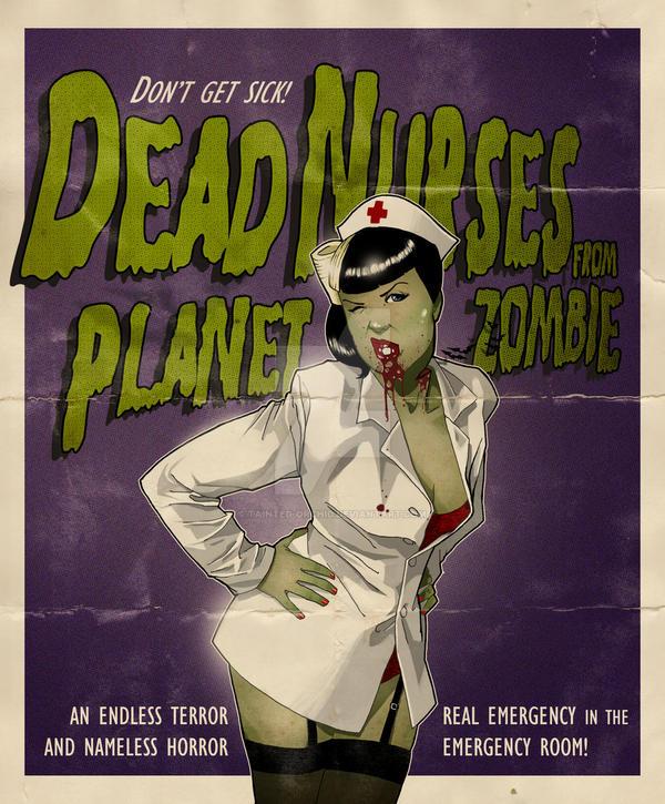 Hello Dead Nurse - Fan Art by tainted-orchid