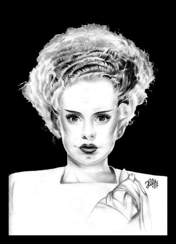 .: Bride of Frankenstein :. by tainted-orchid
