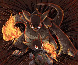 pokeddexy 29 scariest pokemon - mega kangaskhan by Peegeray