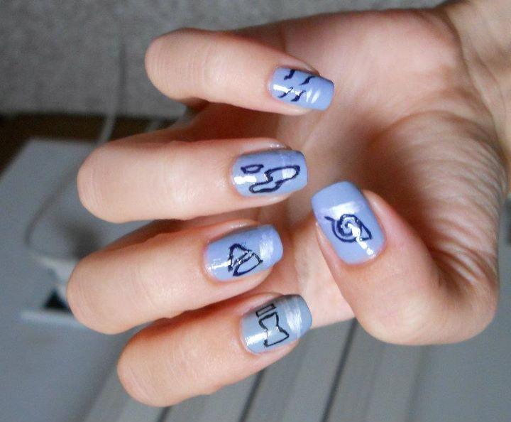 Nail Arts on Naruto-Crafts - DeviantArt