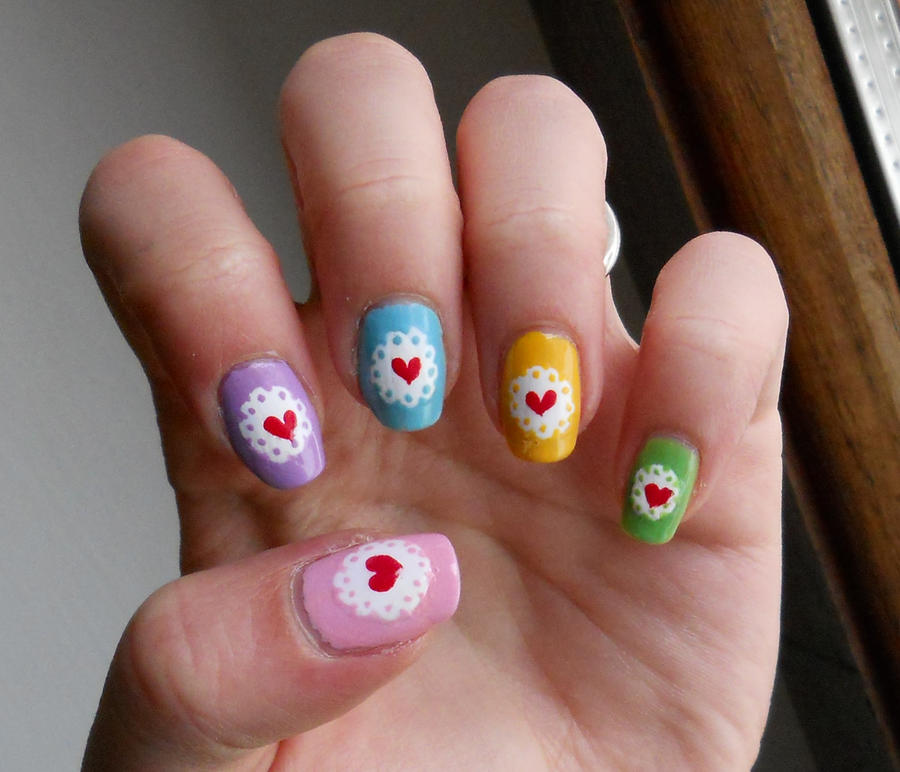 Lovely nails by GhostPrincess91 on DeviantArt