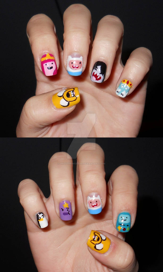 The Best Adventure Time Nails Wallpapers