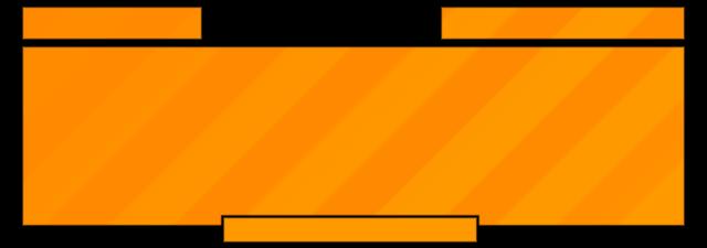 Orange Stripes Text Box