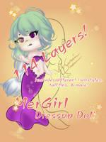 MerGirl Dressup Doll