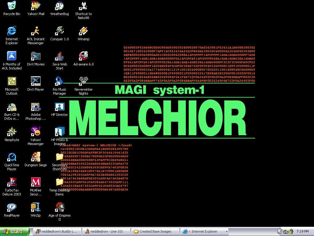 Magi: Melchior