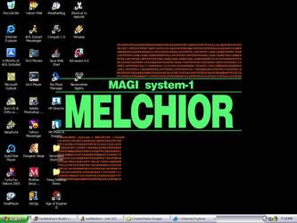 Magi: Melchior by neddiedrow