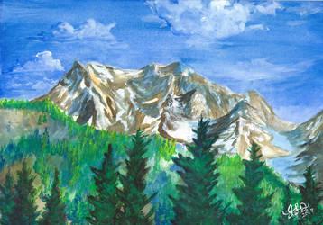 Mountains by Bewildermunster