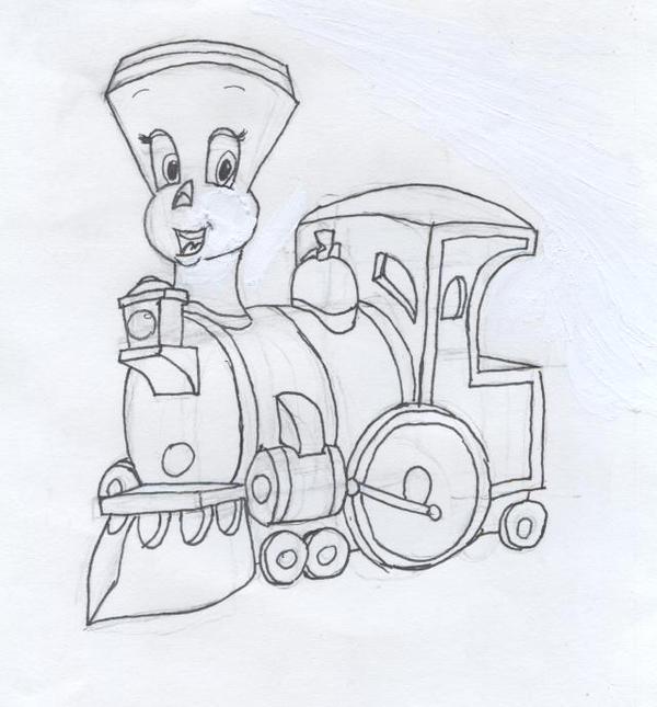 Tillie the little engine by the dreamer queen on DeviantArt