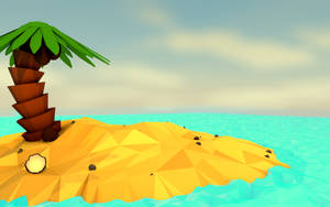 Desert Island by DeJv98-Universe