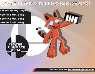 Smash Bros-Style Music Remix Commissions Open! by Abstract--Thought