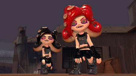 Demon Eyes (for both Inkling and Octoling)