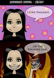 Headbanger girl - Twilight by CountessMorticia