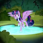 Twilight's Party Trick