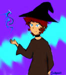 Witch AU Lance by Kitty7807