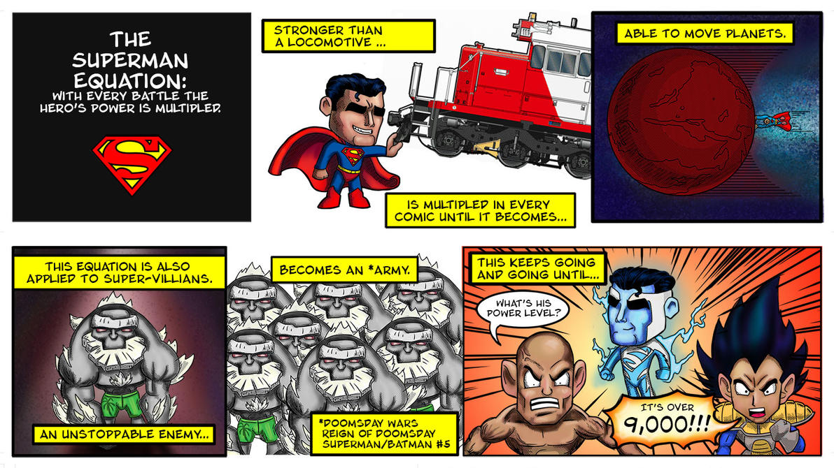 The Superman Equation by rad66203