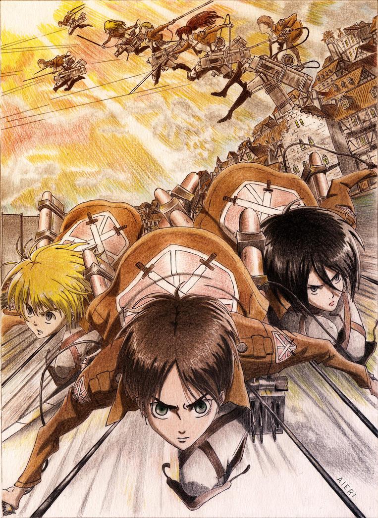Shingeki No Kyojin by DrkCirius