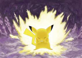 Pikachu by DrkCirius