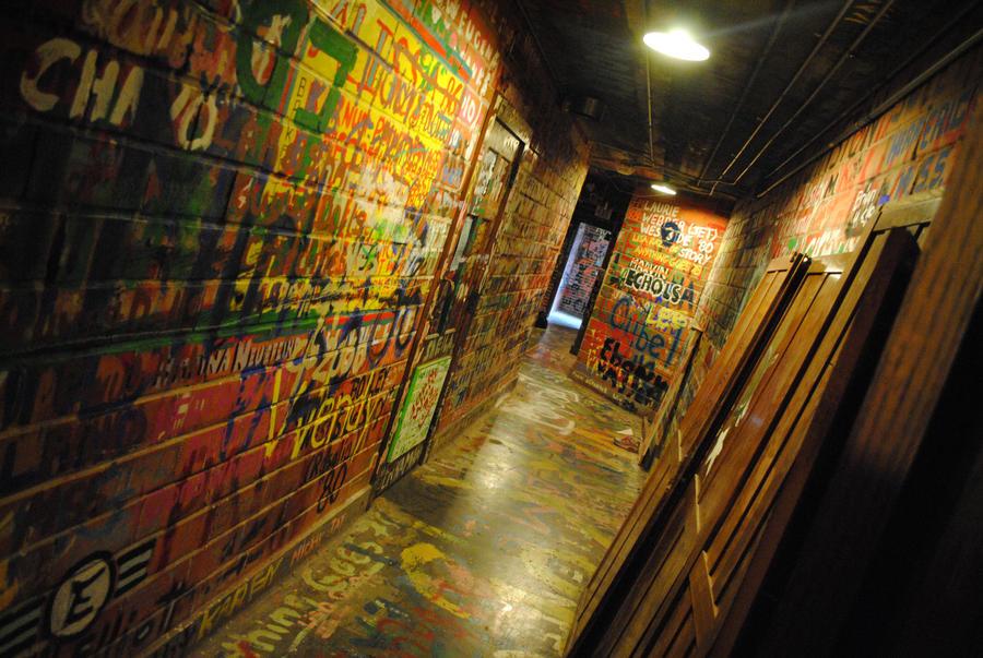 Under the Auditorium by ArtisticallyBadAss